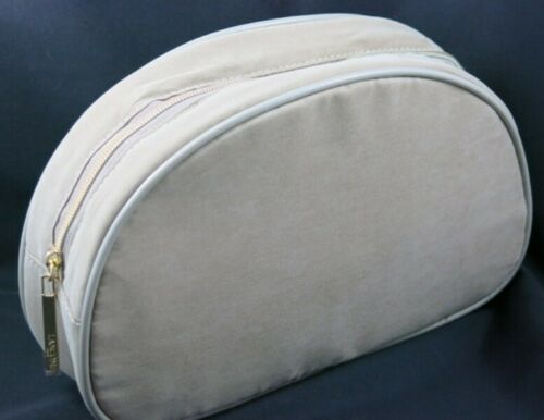 New Lancome Suede  Cosmetic-Makeup-Bag-from-USA
