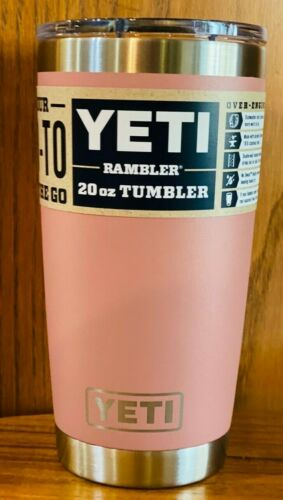 Brand New AUTHENTIC YETI Rambler 20 oz Tumbler with MagSlider Lid ~ Multi-Colors