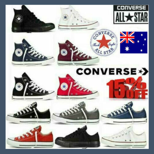 Converse Women Men Unisex All Star Hi Top Chuck Sneakers Taylor Trainers Shoes