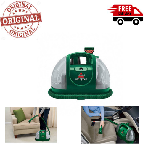 """BI.SSELL Little Green 3"""" spot cleaning Portable Spot and Stain Vacuum Cleaner, 1"""