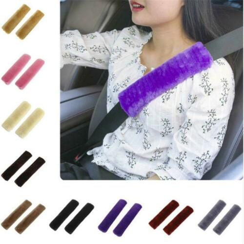 Soft Safety Shoulder Covers Car Seat Belt Pads Cushion Comfortable AS