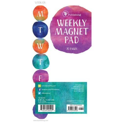 TF Publishing,  Water Spots Magnet Pad