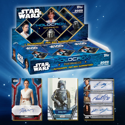 2020 Topps STAR WARS Holocron Factory Sealed Unopened Hobby Pack -- 8 Cards/Pack