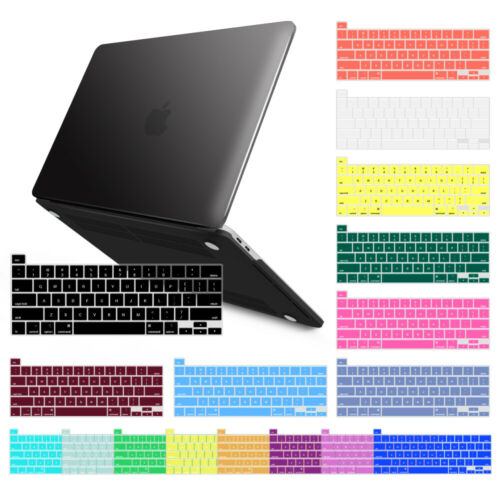 """IBENZER MacBook Pro Plastic Hard Shell Case & keyboard cover 13""""15"""" M1 Touch Bar"""