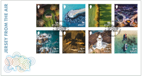 2021 Jersey for the Air - Stamps First Day Cover, Jersey, MNH