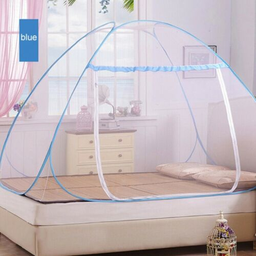 Bed Mosquito Net Automatic Pop-Up Foldable Netting Tent Breathable Portable US