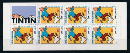 [G388575] France 2000 Tintin good very fine MNH complete booklet