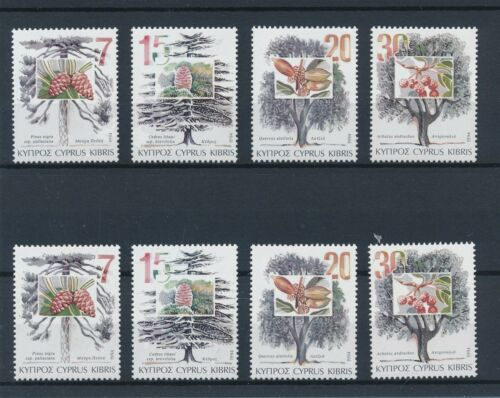 [54720] Cyprus 1994 Trees 2x good set MNH Very Fine stamps