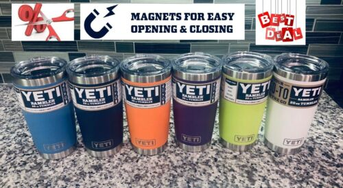 YETI 20 oz Rambler Tumbler, with MagSlider Lid, Stainless Steel, Vacuum Insulate