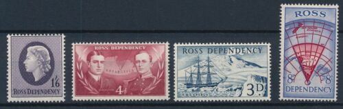 [P5693] Ross Dependency 1957 good set of stamps very fine MNH