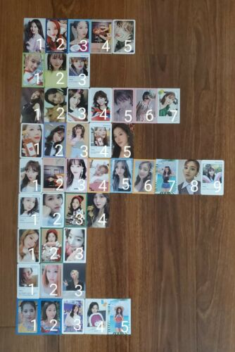 TWICE Official Album Photocards (US ONLY)