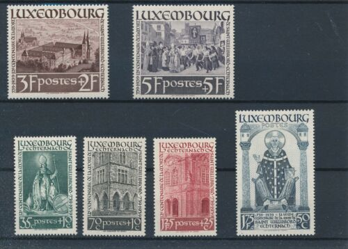 [81992] Luxembourg 1938 good set of stamps very fine MH