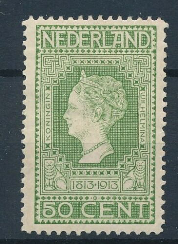 [33562] Netherlands 1913 Good stamp Very Fine MH signed