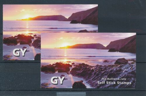 [33785] Guernsey Good complete adhesive booklet 2x Very Fine Mint