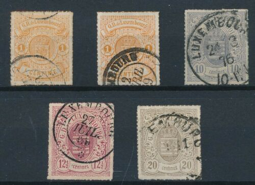 [34241] Luxembourg 1865/73 Good lot classical stamps Very Fine used