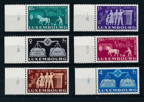 [34270] Luxembourg 1951 Good RARE set Very Fine MNH stamps Value $300