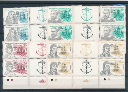 [G28211] Tonga 1985 4x good gum adhesive set very fine MNH stamps imperf