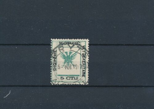 [35184] Albania Good old stamp odditie inverted V Very Fine used Perf see pict