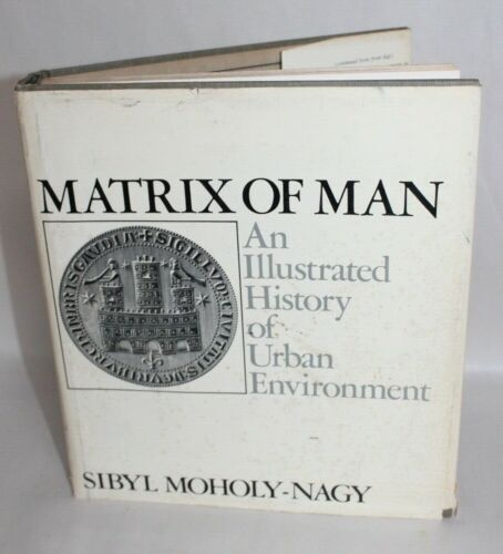 Vtg 1968 Architecture Book MATRIX OF MAN ILLUSTRATED HISTORY URBAN ENVIRONMENT