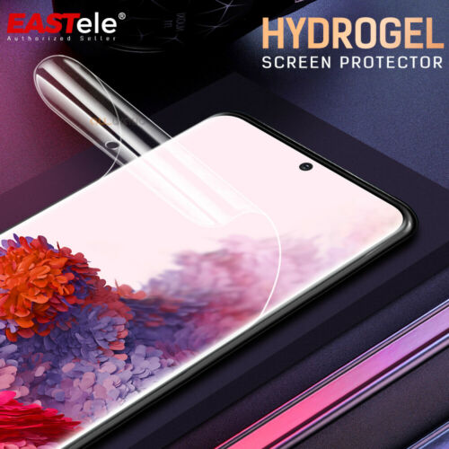 3x HYDROGEL Screen Protector For Samsung Galaxy S21+ S20 FE Plus Note 20 Ultra