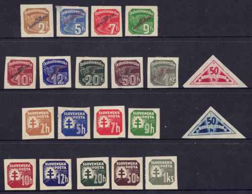 SLOVAKIA - SELECTION OF MINT NH/LH STAMPS