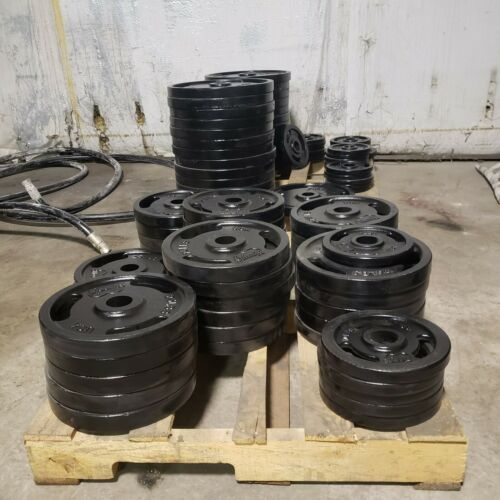 """2"""" Olympic Weight Plates, (Rejects) American Made PAINT DEFECTS, LIMITED SUPPLY!!"""