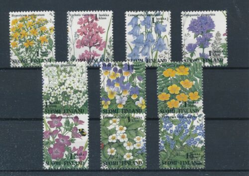 [33295] Finland 1994 Flowers Flora Good set Very Fine MNH stamps