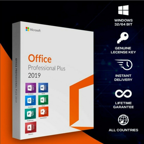 Microsoft Office Professional Plus 2019 Windows Key Online Super Fast Delivery