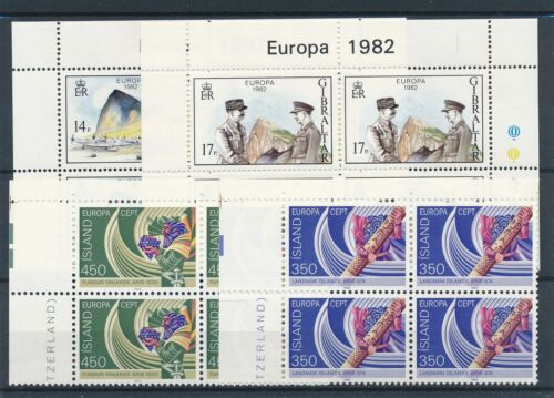 [22116] Worldwide Europa CEPT good lot in blocks of 4 stamps VF MNH