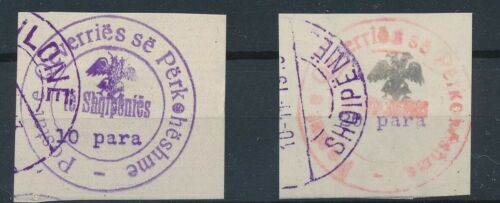 [35000] Albania Two good old stamps Very Fine used