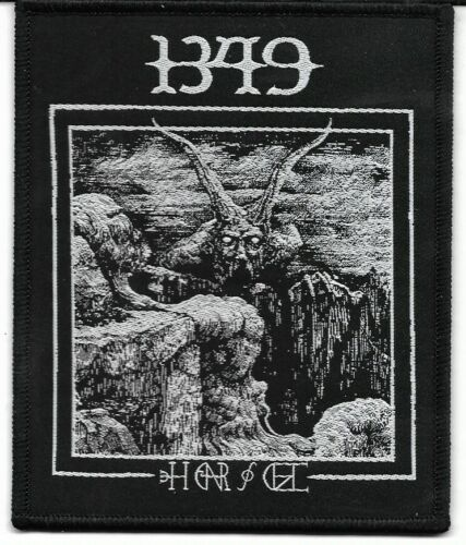 1349-CAVERN-WOVEN PATCH-BLACK BORDERS