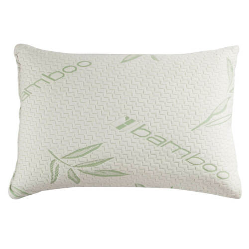 Bamboo Shredded Memory Foam Pillow Hypoallergenic Washable Cover King  Queen