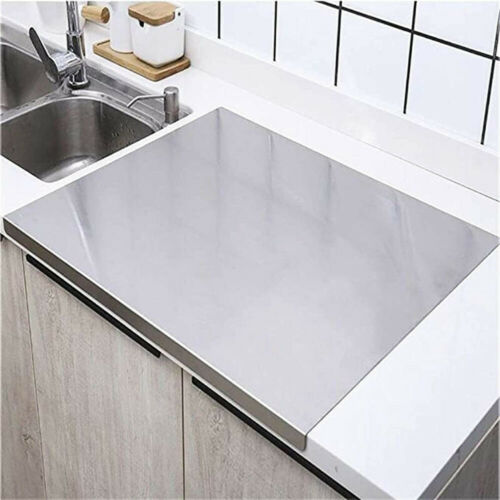 Cutting Board Stainless Steel Chopping Baking Pastry Board Kitchen Tool Protect