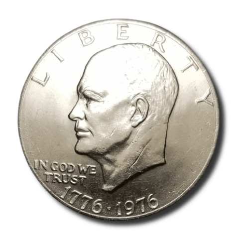1976 Eisenhower Dollar - Uncirculated/Proof/40% Silver/40% Silver Proof