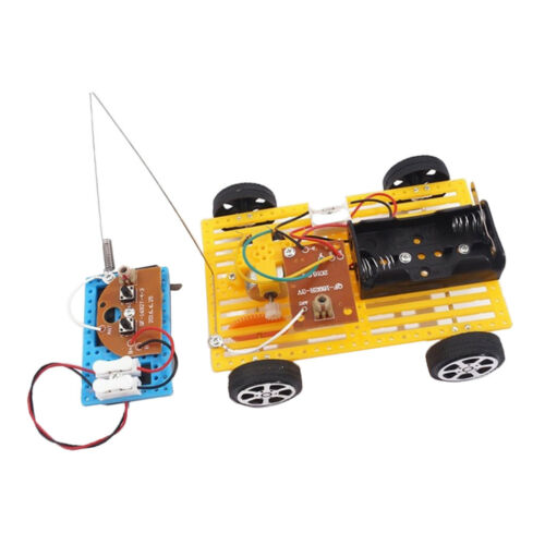 DIY Wireless Remote Control Racing Car Motor Model Electric Physics Science