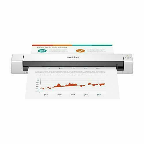 Brother DS-640 Compact Mobile Document Scanner - White