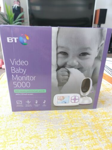 BT Video Baby Monitor 5000 - White (088305), BRAND NEW, unneeded gift! RRP £99.99