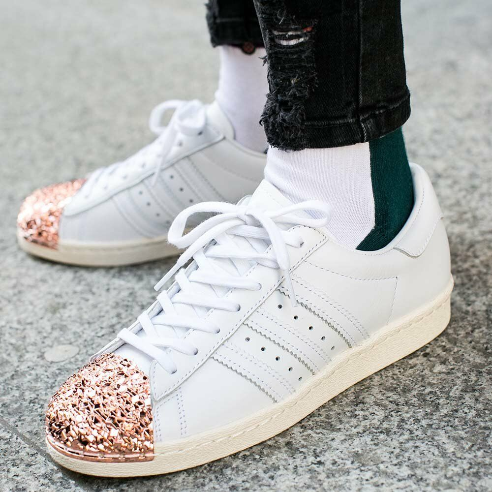 adidas superstar rosa e gold
