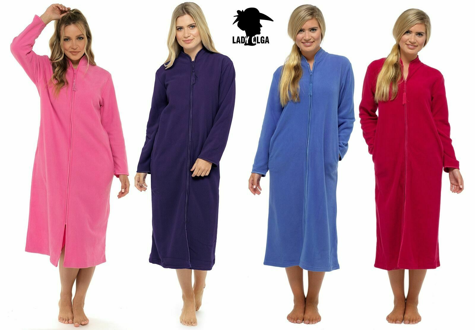 Famous Zip Front Dressing Gowns Ladies Images - Wedding and flowers ...