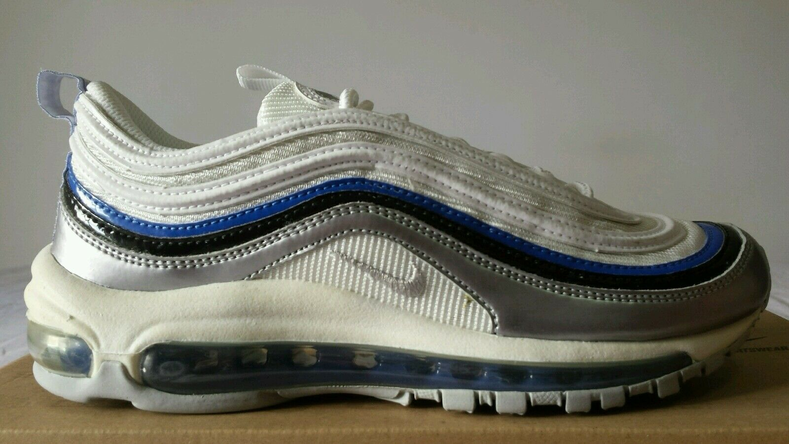 factory authentic f168c 04ae2 nike air max 97 argento