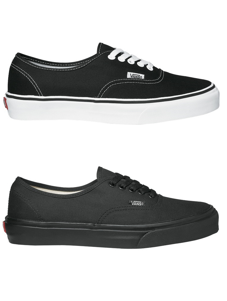 vans donna authentic nere