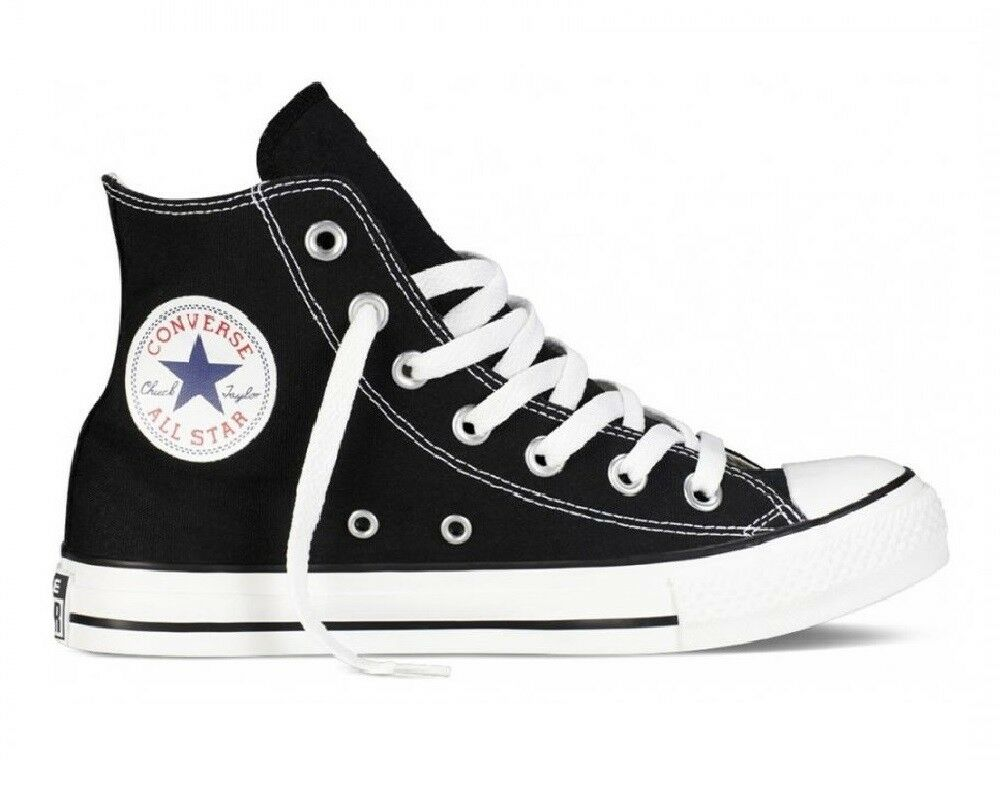CONVERSE ALL STAR HI BLACK ART. M9160C SNEAKERS UNISEX TELA ALTE
