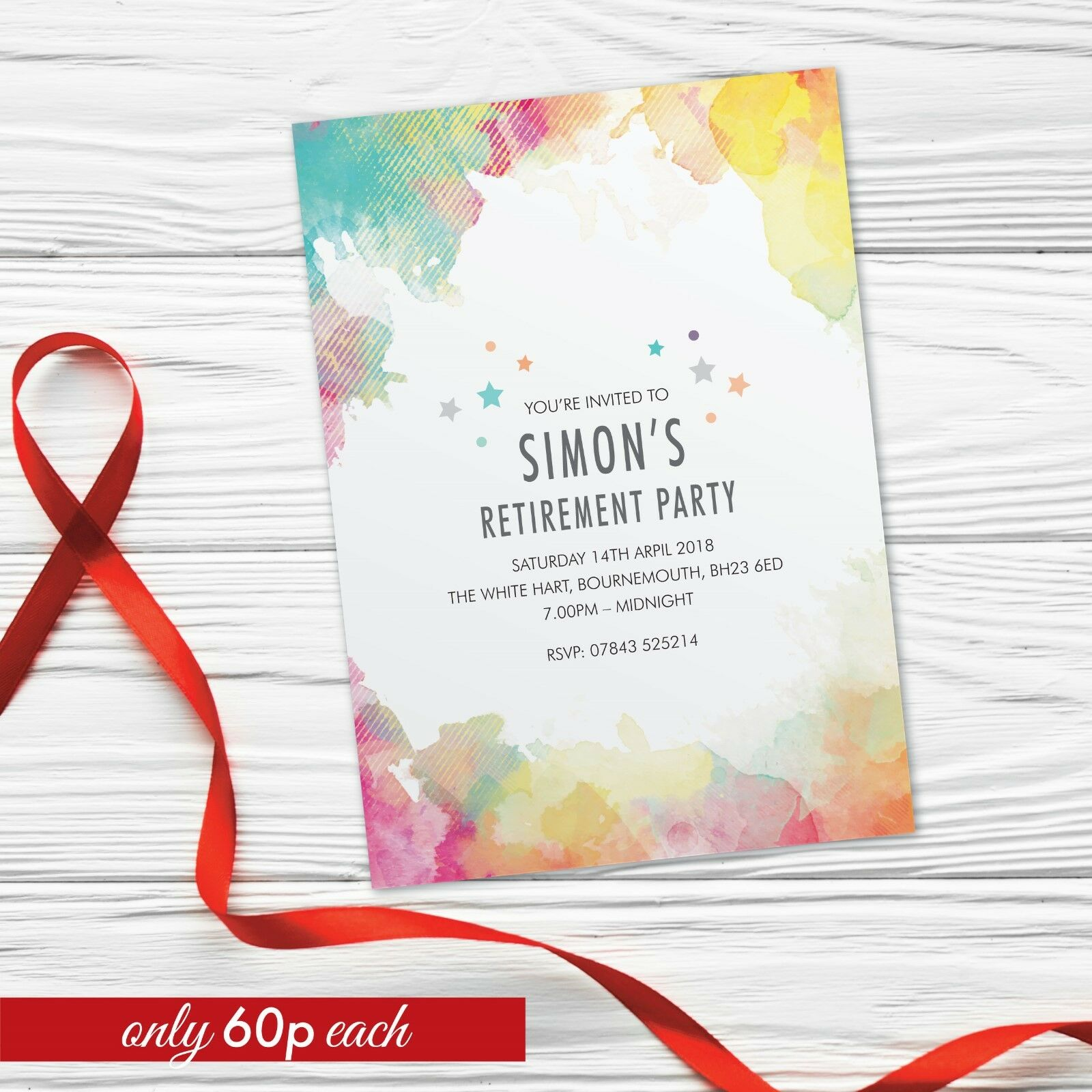 Best Leaving Party Invitations deals | Compare Prices on dealsan.co.uk