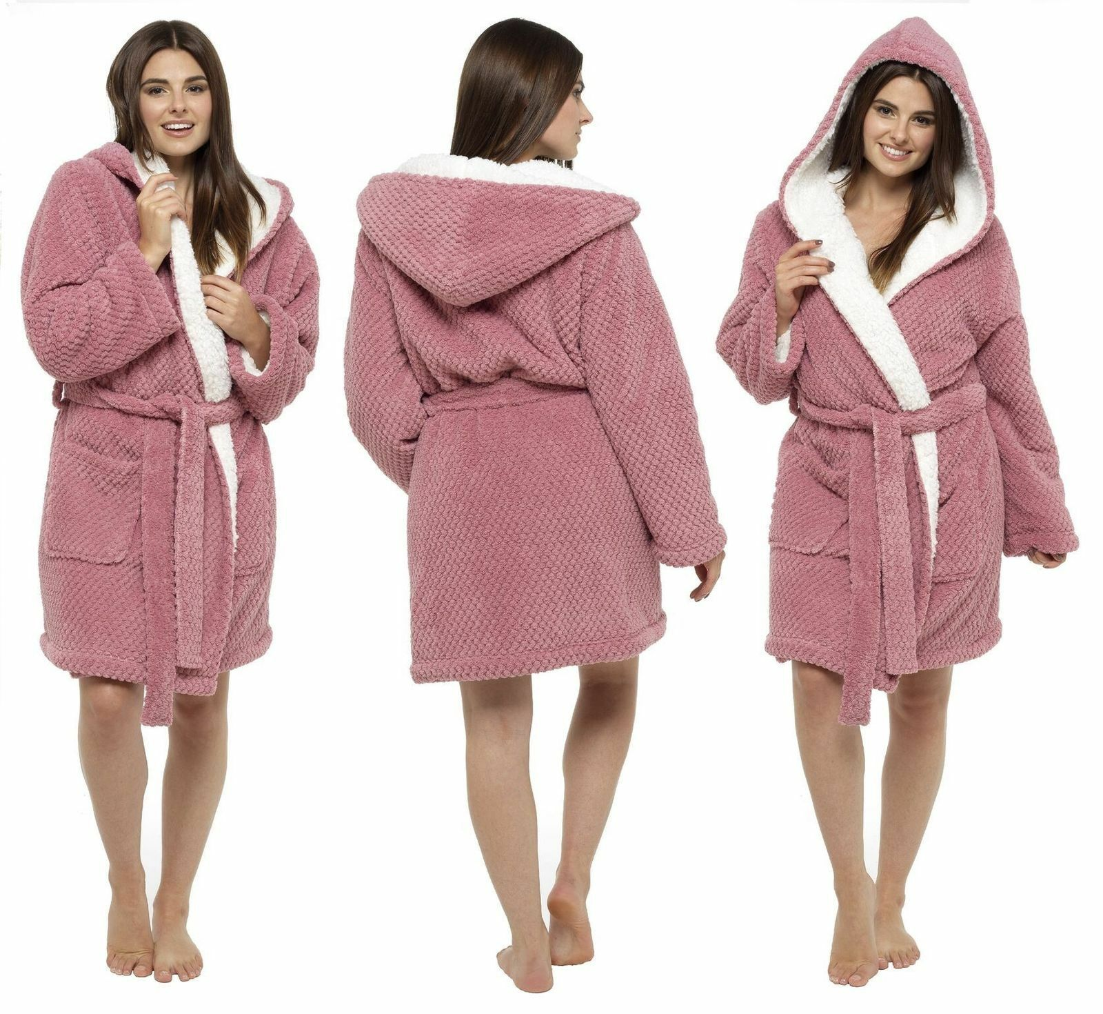 Best Waffle Dressing Gown Hood deals | Compare Prices on dealsan.co.uk
