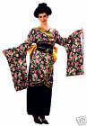 Geisha Girl Japanese Theatrical Costume For Child And Adult Fancy Dress