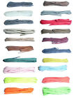 Thin Round Shoe Laces 75cm long Choice of Colours