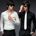 New Mens Casual Slim Fit Stylish Dress Shirts CC6028