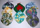 COASTERS~Cotton~Handcrafted~Crocheted~Colors Vary~Set of 4~NEW~FREE SHIP