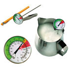 STAINLESS STEEL MILK COFFEE DIAL CATERING THERMOMETER