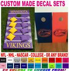 CUSTOM MADE CORNHOLE BOARD VINYL DECAL SETS STICKERS FOR BOARDS BEAN BAG TOSS